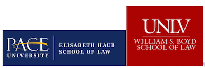 Logs of Elisabeth Haub School of Law at Pace University and William S. Boyd School of Law at the University of Nevada, Las Vegas
